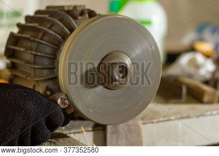 Close Up Of A Circular Saw, Circular Saw Blade