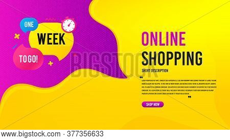 One Week Offer Bubble. Discount Banner Template. Discount Banner Shape. Special Offer Icon. Creative
