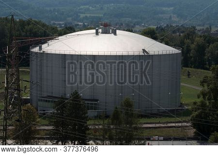 Oil Depot For Storage Of Fossil Fuels