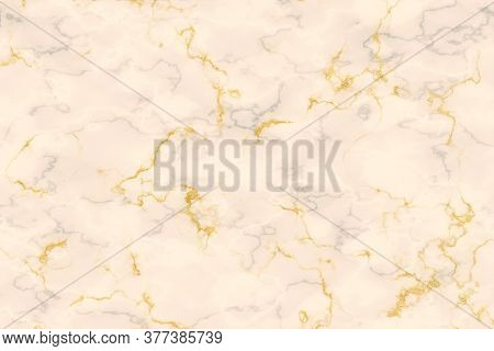Gold Mineral Line And Eggnog Color Granite Marble Luxury Interior