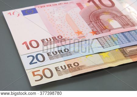 Euro Currency Money, Euro Money, Cash Money, Euro Bills.