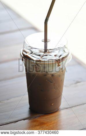 Iced Chocolate Or Iced Cocoa, Mocha Coffee