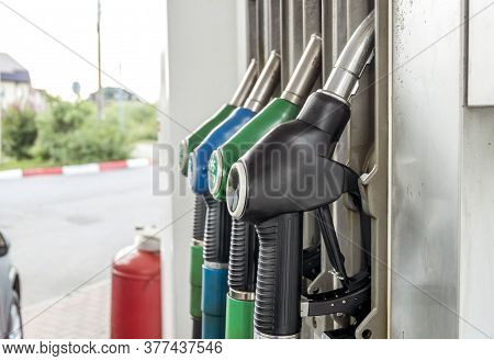St. Petersburg. Russia. July 19, 2020. Gas Station