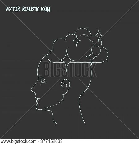 Dreaming Icon Line Element. Vector Illustration Of Dreaming Icon Line Isolated On Clean Background F