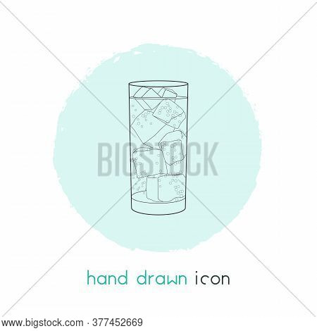 Soda Icon Line Element. Vector Illustration Of Soda Icon Line Isolated On Clean Background For Your