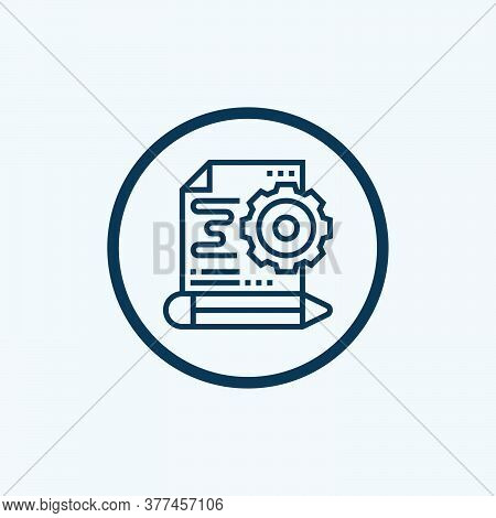 Prototype Icon Isolated On White Background From Digital Transformation Collection. Prototype Icon T
