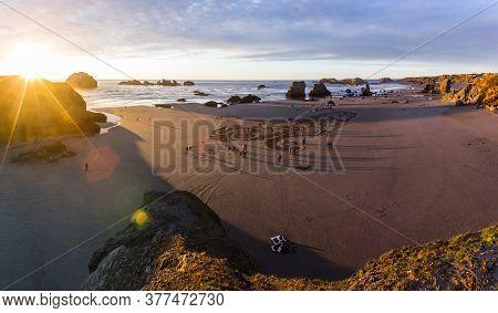 Labyrinth On The Beach