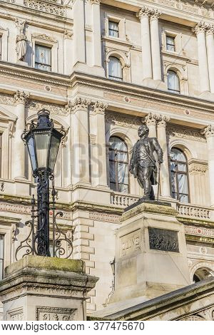 Statue Of Robert Clive, Westminster, London, England United Kingdom Europe