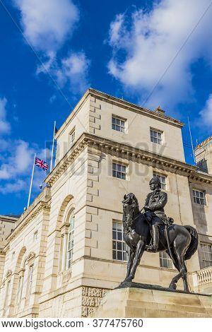 Equestrian Statue Of The Earl Roberts, London, England, United Kingdom, Europe