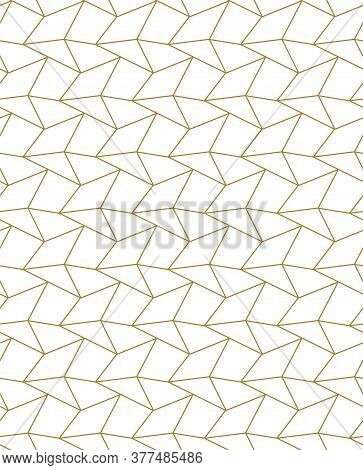 Seamless East Graphic Cell Texture Pattern. Repeat Minimal Vector, Triangle Grid Texture. Repetitive