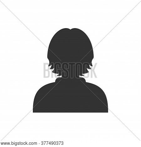 Woman Icon. People Icon Isolated On White Background. People User Person. Partnership Icon. Corporat