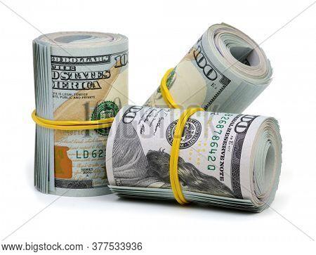 New design US Dollar on white background