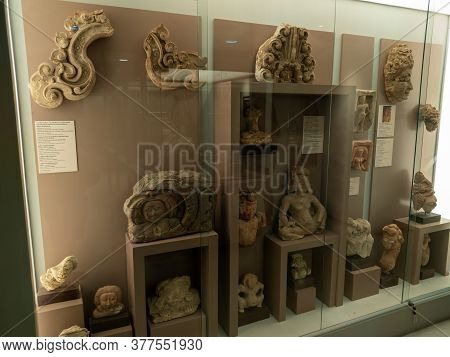 National Museum King Narai Lop Buri Thailand-17 July 2020:is A Museum Located Inside The Ancient Pal