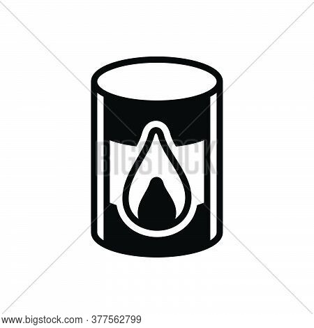 Black Solid Icon For Oil-barrel Barrel Chemical Container Crisis Crude Diesel Natural Tanker Power P