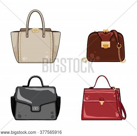 Woman Color Bags Designer Ladies Handbag Collection. Fashionable And Trendy Handbags.