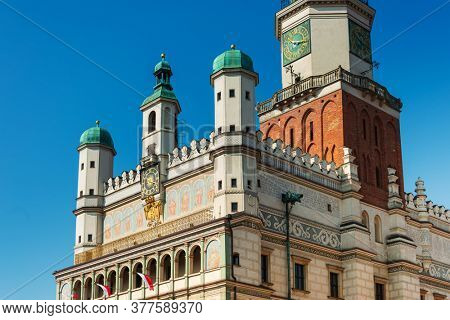 Poznan Town Hall is a historic city hall in the city of Poznan, Poland