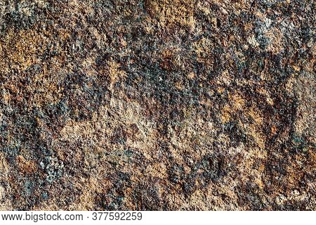 Dark Rust Texture. Grunge Corrosion Background. Dirty Industrial Steel Sheet Pattern. Weathered Erod
