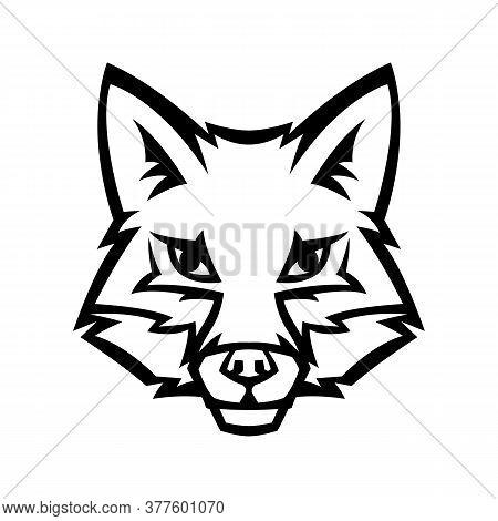 Mascot Stylized Fox Head. Illustration Or Icon Of Wild Animal.