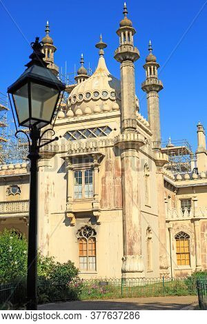 Brighton Pavilion, Uk, 2020.  The Brighton Pavilion Was Used By Various Royalty Including George Iv
