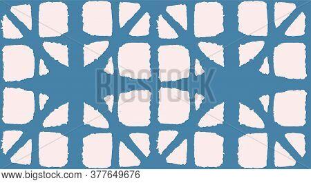 Japanese Tie Dye Seamless Pattern. Rich Vip Japanese Clothes Texture. Retro Shibori Seamless Pattern