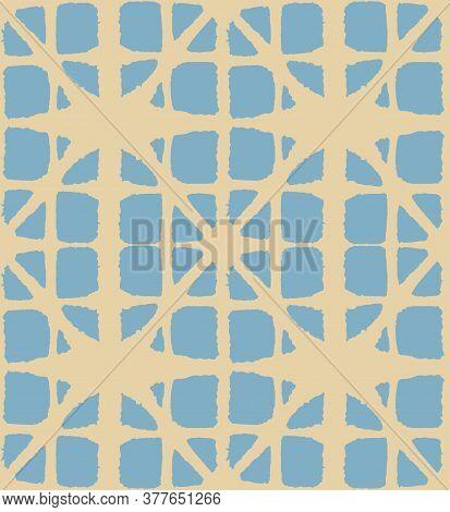 Japanese Tie Dye Seamless Pattern. Rich Vip Japanese Clothes Print. Glamour Kimono Textile. Geometri