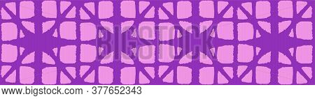 Japanese Tie Dye Seamless Pattern. Elegant Kimono Textile. Bohemian Geometric Asian Tie Dye Design.
