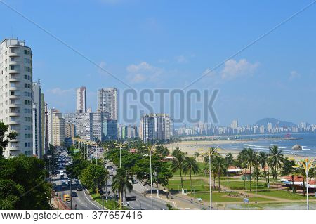 Sao Vicente, Sao Paulo, Brazil - Beautiful View Of The City