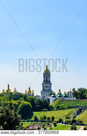 View On Bell Tower Of Kiev Pechersk Lavra