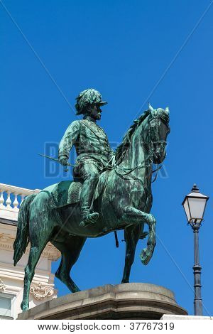 Famous Statue Of Archduke Albrecht
