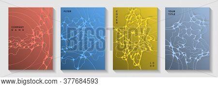 Premium Dance Party Flyers. Complex Curve Lines Torrent Backgrounds. Delicate Magazine Vector Layout