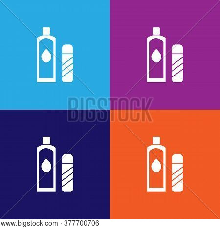 Lotion Icon. Bathroom And Sauna Element Icon. Signs, Outline Symbols Collection Icon For Websites, W