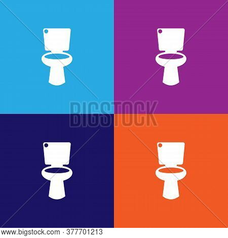 Toilet Icon. Bathroom And Sauna Element Icon. Signs, Outline Symbols Collection Icon For Websites, W