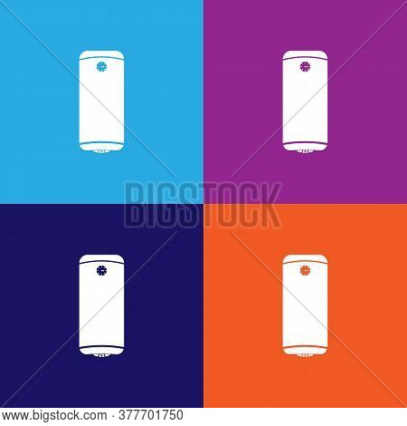 Boiler Icon. Bathroom And Sauna Element Icon. Signs, Outline Symbols Collection Icon For Websites, W