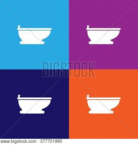 Bidet Icon. Bathroom And Sauna Element Icon. Signs, Outline Symbols Collection Icon For Websites, We