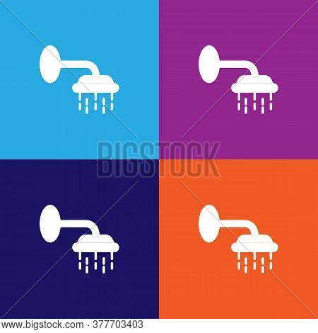 Shower Icon. Bathroom And Sauna Element Icon. Signs, Outline Symbols Collection Icon For Websites, W