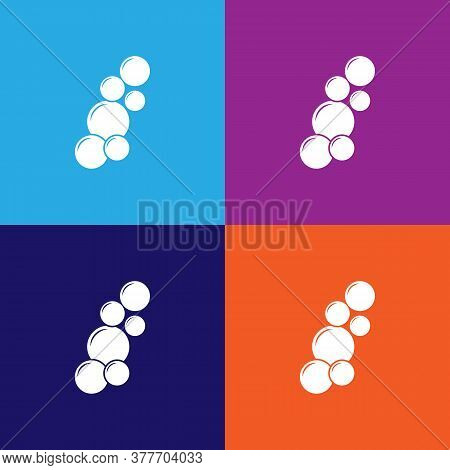 Bubbles Icon. Bathroom And Sauna Element Icon. Signs, Outline Symbols Collection Icon For Websites,