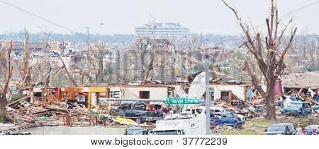 Joplin Tornado Damage 5/22/11