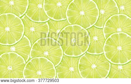 Green Background From Round Lobules Gr. Drawing For The Surface Of Wallpaper, Paper, Advertising, De