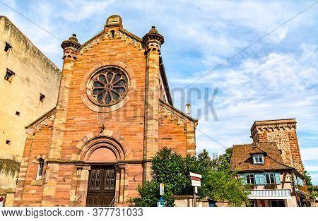 A Historic Synagogue In Obernai - Bas-rhin, France
