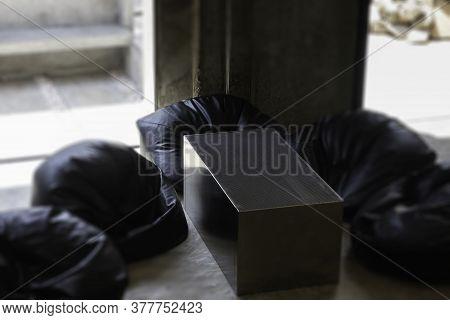Minimal Loft Style Coffee Shop, Stock Photo