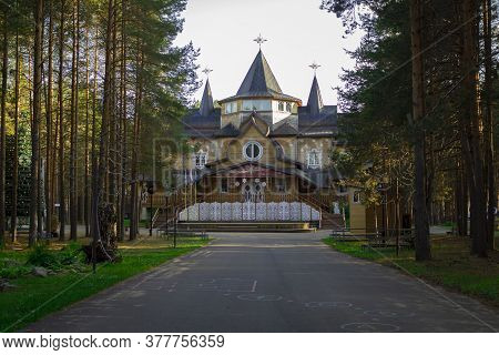 Veliky Ustyug, Russia-july 2020: The Residence Of Santa Claus In Veliky Ustyug In Summer.