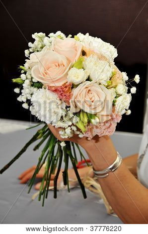 Hand Arranging Flower