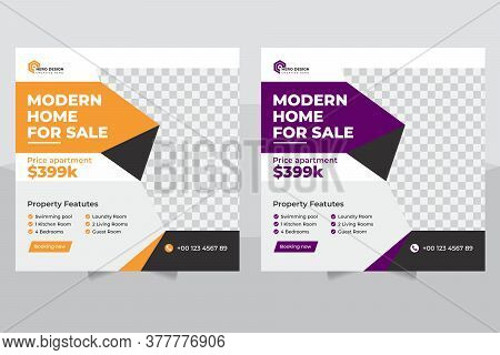 Real Estate Social Media Post Or Instagram Construction Social Media Post, Banner And Flyer Design