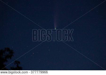 Neowise C/2020 F3 Comet In Ukrainian Sky At July, 22.