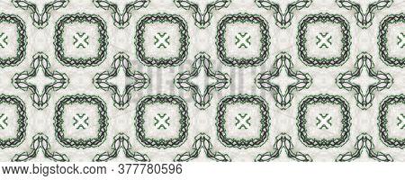 Portuguese Decorative Tiles Background. Cyan Russian Texture. Watercolor Aztec Illustration. Portugu