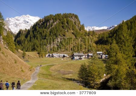 Alpe Devero Alpine Landscape