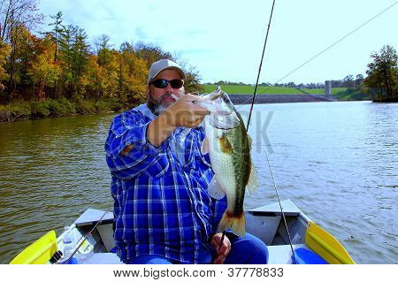 fisherman and bass