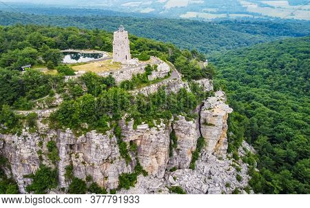 Mohonk Preserve Sky Top Tower Aerial Scenic View