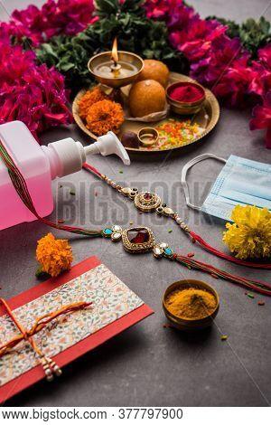Raksha Bandhan Or Rakhi Festival In Corona Or Covid-19 Pandemic