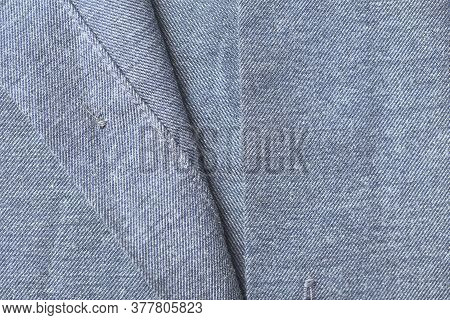 Close Up Of Men's Shirt. Front View. Copy Space.